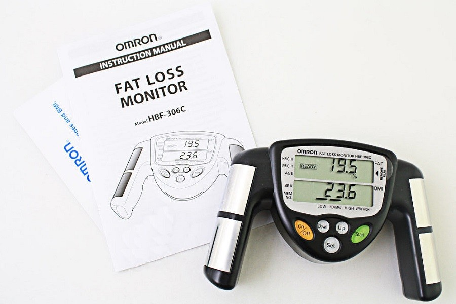 Omron hbf306c handheld body fat loss monitor reviews