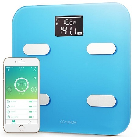 YUNMAI Color Smart Scale Connectivity